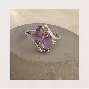 Jewelry - New | Genuine Amethyst & Sterling Silver Ring